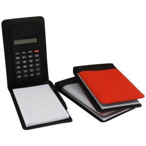 Bloco de Anotações com Calculadora [Cod. 12521]