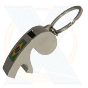 Chaveiro Metal com Apito e Abridor [Cod. 12527]