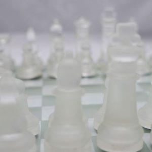 Jogo de Xadrez 25x25cm [Cod. 9946]