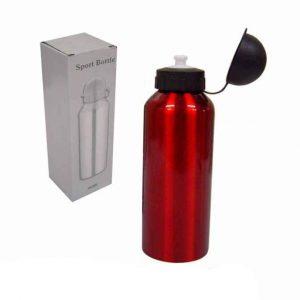 Squeeze de Inox Vermelho 600ml [Cod. 141019V]