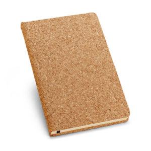ALMODOVAR Caderno Capa Dura de Cortiça e Com Folhas Cor Marfim (93489)