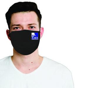 Máscara Tecido Duplo Estilo Retangular com Elástico